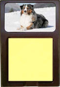 Australian Shepherd Note Holder