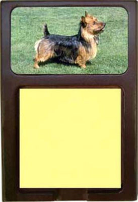 Australian Terrier Note Holder
