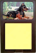 Beauceron Note Holder