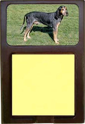 Blue Tick Coonhound Note Holder