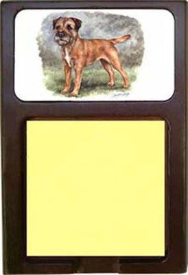 Border Terrier Note Holder