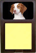 Brittany Spaniel Note Holder