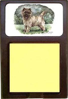 Cairn Terrier Note Holder
