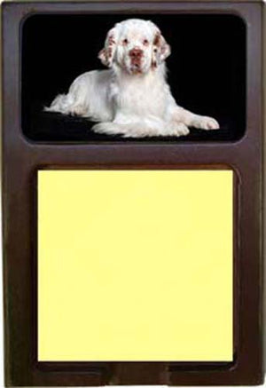 Clumber Spaniel Note Holder