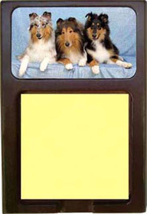 Collie Rough Note Holder