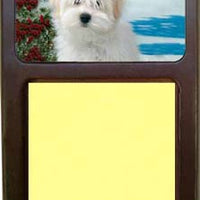 Coton du Tulear Note Holder