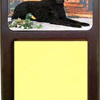 Curly Coated Retriever Note Holder