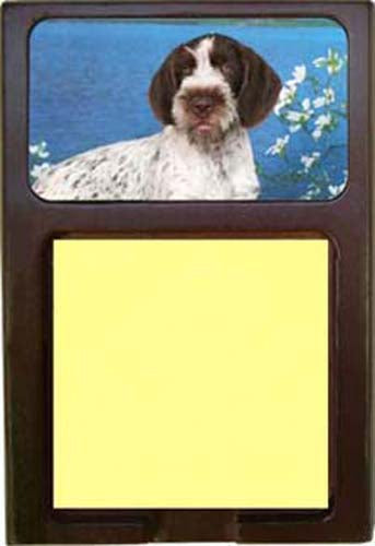 German Wirehair Pointer Note Holder