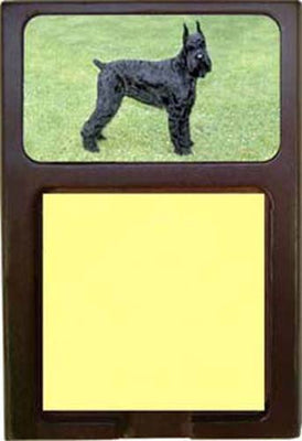 Giant Schnauzer Note Holder