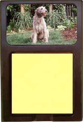 Irish Wolfhound Note Holder