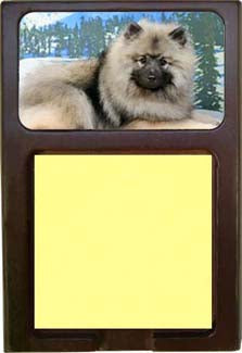 Keeshond Note Holder