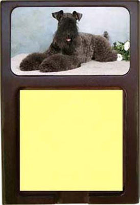 Kerry Blue Terrier Note Holder
