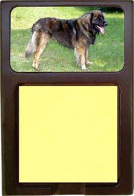 Leonberger Note Holder