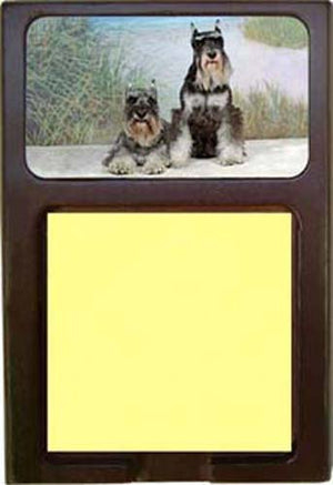 Miniature Schnauzer Note Holder