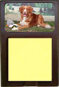 Nova Scotia Duck Toller Note Holder