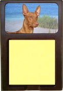 Pharaoh Hound Note Holder