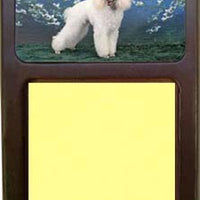 Poodle Note Holder