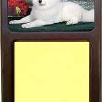 Samoyed Note Holder