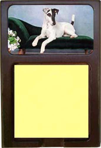 Smooth Fox Terrier Note Holder