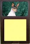 Toy Fox Terrier Note Holder