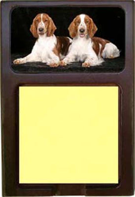 Welsh Springer Spaniel Note Holder