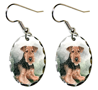 Airedale Terrier Earrings