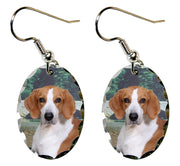 American Foxhound Earrings