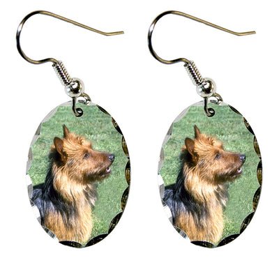 Australian Terrier Earrings