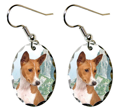 Basenji Earrings