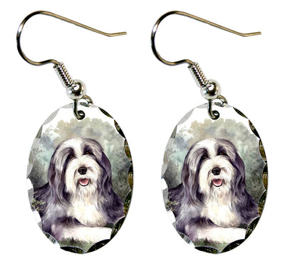 Bearded Collie Earrings