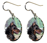 Beauceron Earrings