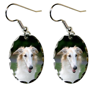 Borzoi Earrings
