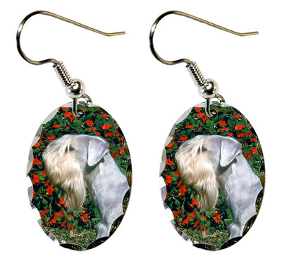 Cesky Terrier Earrings