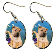 Chinese Shar-Pei Earrings
