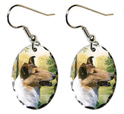 Collie Smooth Earrings