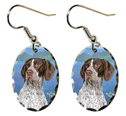 German Shorthair Pointer Earrings