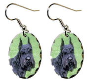 Giant Schnauzer Earrings