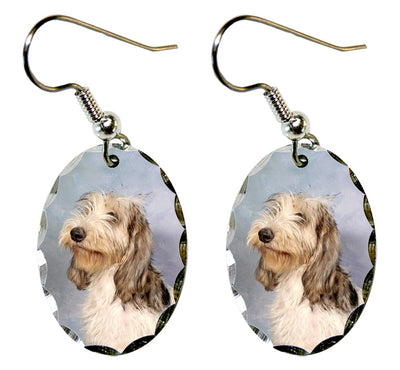 Grand Basset Griffon Vendeen Earrings