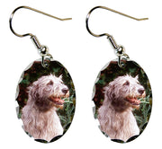 Irish Wolfhound Earrings