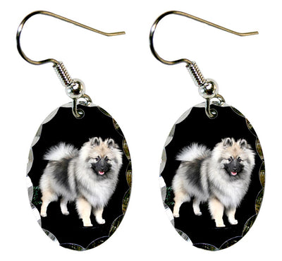 Keeshond Earrings