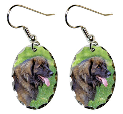 Leonberger Earrings