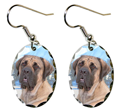 Mastiff Earrings
