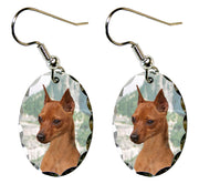 Miniature Pinscher Earrings