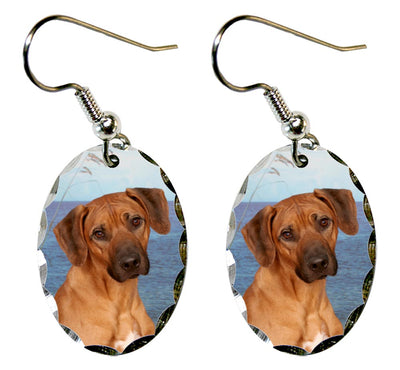 Rhodesian Ridgeback Earrings