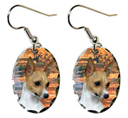 Toy Fox Terrier Earrings