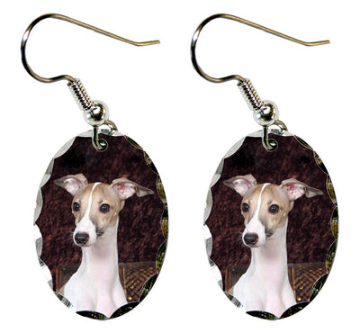 Whippet Earrings