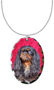English Toy Spaniel Pendant
