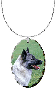 Norwegian Elkhound Pendant