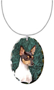 Toy Fox Terrier Pendant