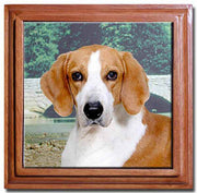 American Foxhound Tile Trivet